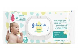 Johnson's Cottontouch Extra Sensitive wipes 56 τμχ