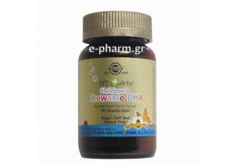 Solgar Childrens's chewable DHA chewie-gels 90s