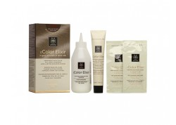 APIVITA My Color Elixir Kit Μόνιμη Βαφή Μαλλιών Καστανό έντονο σαντρέ 4.11