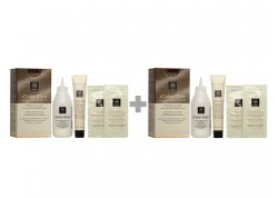 APIVITA My Color Elixir Kit Μόνιμη Βαφή Μαλλιών Ξανθό Σκούρο Μελί Μαονί 6.35 1+1