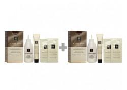 APIVITA My Color Elixir Kit Μόνιμη Βαφή Μαλλιών Ξανθό Έντονο Χάλκινο 7.44 1+1