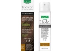 HOMOCRIN Tricolor Spray Βαφής Μαλλιών Light Brown 75 ml