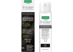HOMOCRIN Tricolor Spray Βαφής Μαλλιών Black 75 l