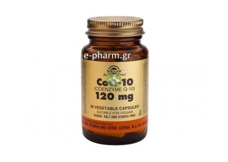 Solgar Coenzyme Q-10 120 mg veg.caps 30s