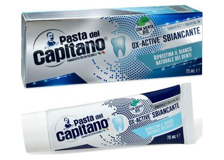 CAPITANO OX Active Λευκαντική Οδοντόβουρτσα 75 ml