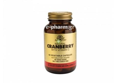 Solgar Cranberry with Vit. C veg.caps 60 tabs