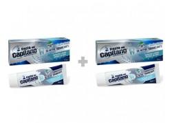 CAPITANO OX Active Λευκαντική Οδοντόκρεμα 75 ml 1+1