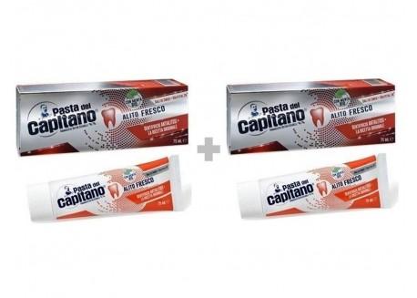CAPITANO Οδοντόκρεμα για καθαρή αναπνοή 75ml 1+1