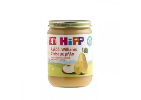 HiPP Βρεφική φρουτόκρεμα αχλάδι - μήλο 190g
