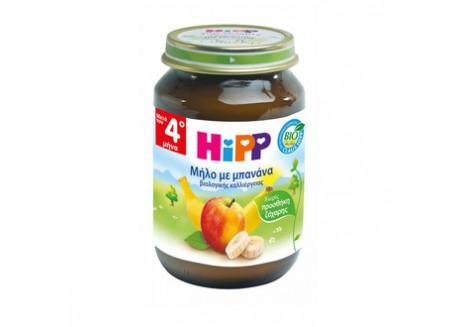 HiPP Βρεφική φρουτόκρεμα μήλο-μπανάνα 190g