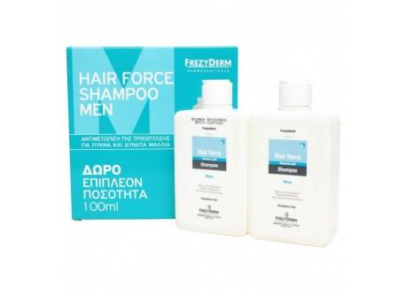 Frezyderm Hair Force Shampoo Men 200ml + ΔΩΡΟ 100ml