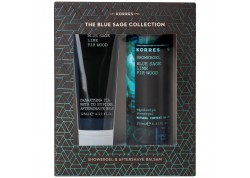 Κορρες Blue Sage Αφρόλουτρο 250ml & Blue Sage Aftershave Balm 125ml