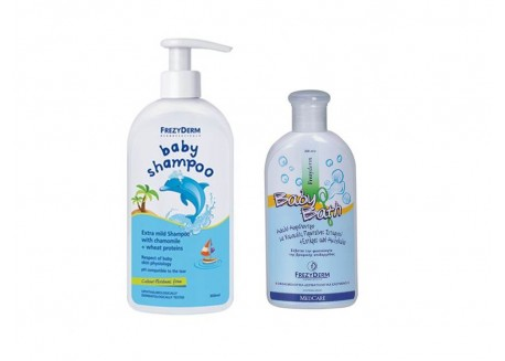Frezyderm Baby Shampoo 200 ml & Baby Bath 100 ml