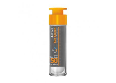 Frezyderm Active Sun Screen Tinted Face Cream SPF 50+ 50 ml