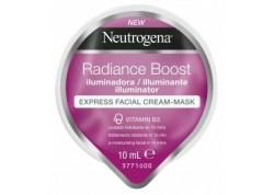 Neutrogena Radiance Boost Illuminator Express Facial Cream-Mask 10ml