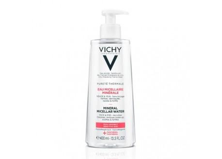 VICHY Purete Thermale Νερό Micellaire για ευαίσθητη επιδερμίδα 400ml