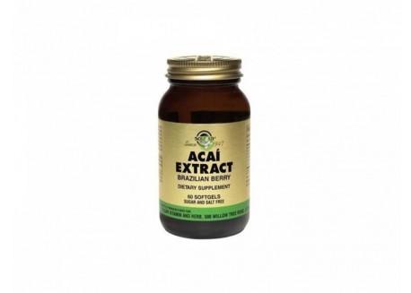 Solgar Acai Extract softgels 60s