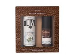 Κορρές Olive Cedar Showergel 250ml & Αντιρυτιδική και συσφικτική κρέμα για πρόπωπο & μάτια με σφένδαμο 50ml