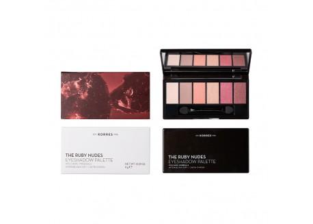 ΚΟΡΡΕΣ The Ruby Nudes Eyshadow Palette 6g