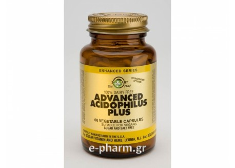 Solgar Advanced Acidophilus Plus veg. 60s