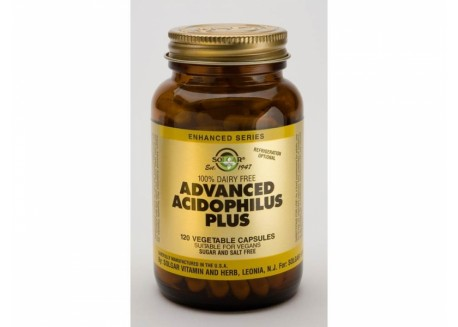 Solgar Advanced Acidophilus Plus veg. caps 120s