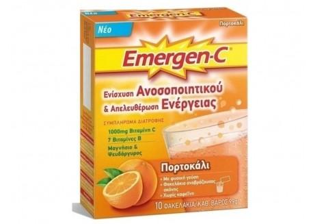 Emergen-C Πορτοκάλι 10 φακελάκια