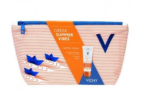 VICHY Αντηλιακό Προσώπου κατά των κηλίδων 3 σε 1 50 ml SPF 50+ με χρώμα