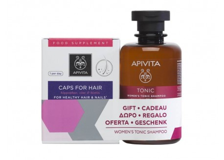 APIVITA PROMO Κάψουλες για υγιή μαλλιά & νύχια 30 caps