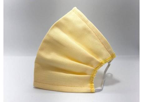 Υφασμάτινη Μάσκα Ενηλίκων (Κίτρινη)