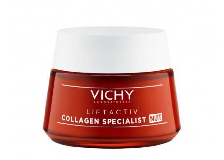 VICHY Collagen Night Κρέμα Νύχτας 50 ml