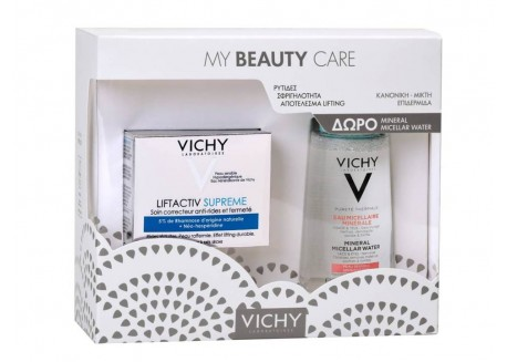 VICHY Liftactiv Supreme 50 ml & ΔΩΡΟ Mineral Micellar 100 ml