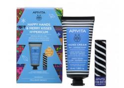 APIVITA Happy Hands & Merry Kisses για ξηρά-σκασμένα