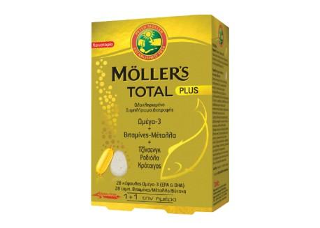 Moller's Total Plus 30 caps