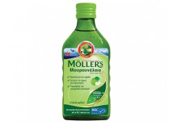Moller's Μουρουνέλαιο με γεύση μήλο 250 ml