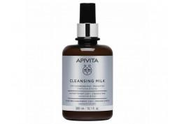 APIVITA Cleansing Γαλάκτωμα καθαρισμού 3 σε 1 300 ml