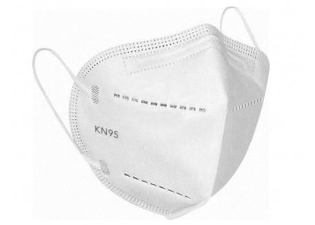 Μάσκα KN95 μιας χρήσης (λευκή)
