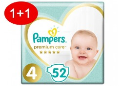 Pampers Premium Care N.4 52 τμχ Jumbo