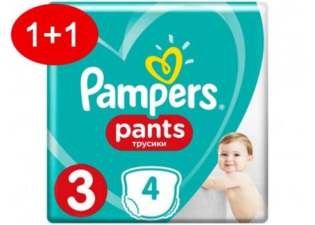 Pampers Pants N.3 60 τμχ Jumbo Πάνες-βρακάκι