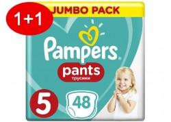 Pampers Pants N.5 48 τμχ Jumbo Πάνες-βρακάκι