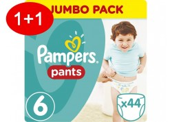 Pampers Pants N.6 44 τμχ Jumbo Πάνες-βρακάκι