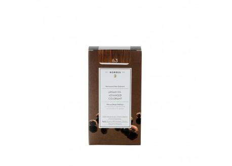 Κορρες Βαφή Argan Oil Golden/Honey Dark Blonde 6.3 50ml