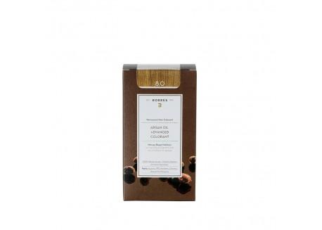 ΚΟΡΡΕΣ Βαφή Argan Oil Light Blonde 8.0 (ανοιχτό ξανθό) 50ml