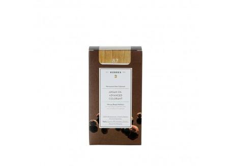 ΚΟΡΡΕΣ Βαφή Argan Oil Toffee 8.7 50ml