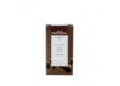 ΚΟΡΡΕΣ Βαφή Argan Oil Intense Burgundy Red 66.46