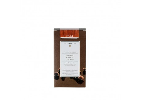 ΚΟΡΡΕΣ Βαφή Argan Oil Intense Copper Blonde 77.44 50ml