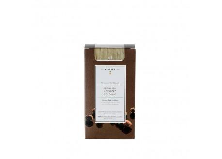 ΚΟΡΡΕΣ Βαφή Argan Oil Ash Light Blonde 8.1 50ml