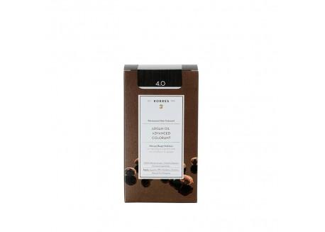 ΚΟΡΡΕΣ Βαφή Argan Oil Brown 4.0 (καφέ) 50ml