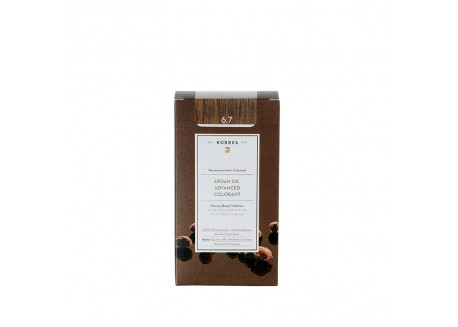 ΚΟΡΡΕΣ Βαφή Argan Oil Cocoa 6.7 50ml