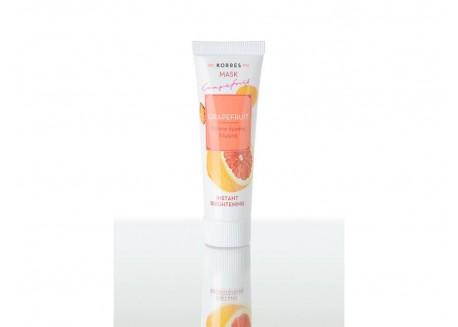 Κορρες Beauty Shot Μάσκα Λάμψης με Grapefruit 18 ml